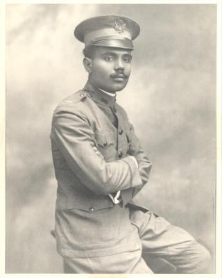 Don Pedro in uniform