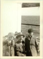 Torres children on a steamship