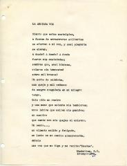 """La Ansiada Voz"" / Long Awaited Voice"