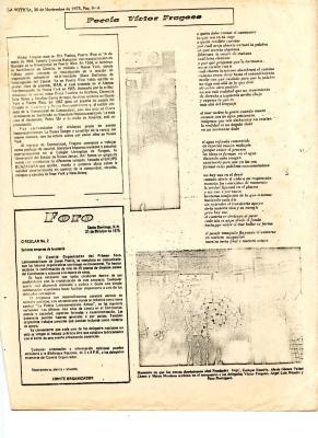 """""""Poesía Victor Fragoso"""" / Poetry Victor Fragoso"""