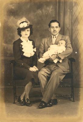 Gilberto Concepción de Gracia and his wife Ada Suárez Concepción