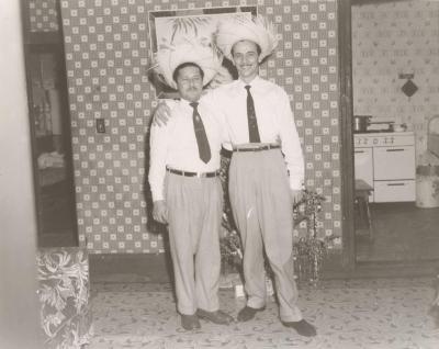 Moralito at the home of Ralph Perez