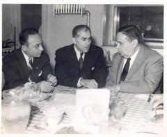 Oscar García Rivera with Political and Community Figures