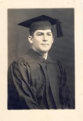 Oscar García Rivera in graduation portrait