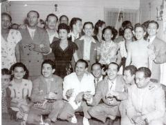 "Group with Pedro ""Piquito"" Marcano"