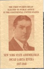 New York State Assemblyman Oscar García Rivera