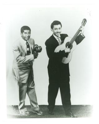 """Pedro Ortiz Davila (""""Davilita"""") and Felipe Rodriguez"""