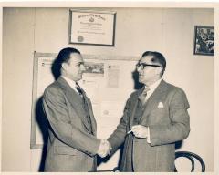 Oscar García Rivera at work
