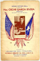 Grand Victory Ball in Honor of Oscar García Rivera