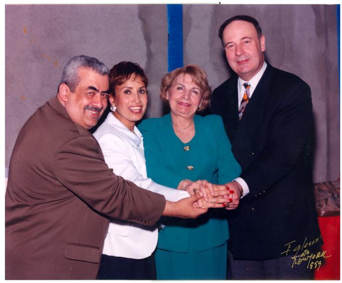 Olga A. Méndez and Nydia Velázquez
