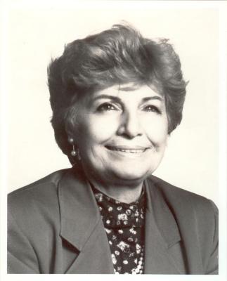 Olga Méndez portrait