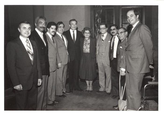 Jose E. Serrano, Angelo del Toro, Herman Badillo, Olga Méndez, Antonio Burgos