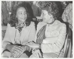 Olga Méndez and Coretta Scott King