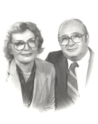 Olga A. Méndez and her husband Anthony Méndez