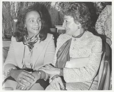 Olga Méndez and Coretta Scott King