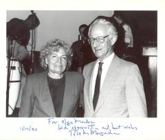 Olga A. Méndez and Robert M. Morgenthau