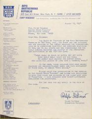 Letter from Boys Brotherhood Republic