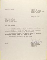 Letter from David Carter-El