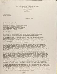 Letter to Thomas B. Letaw