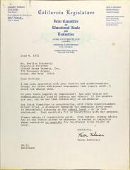 Letter from Keith Echeverri