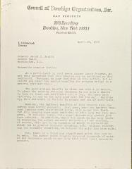 Letter from L Litvintchouk to Jacob Javits