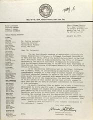 Letter from Hernan LaFontaine