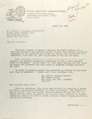 Letter from Victor Purcell