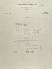 Letter to Con Edison