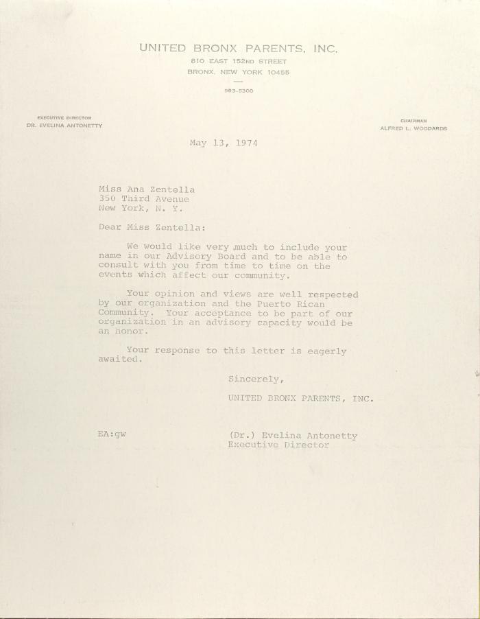 Letter to Ana Zentella