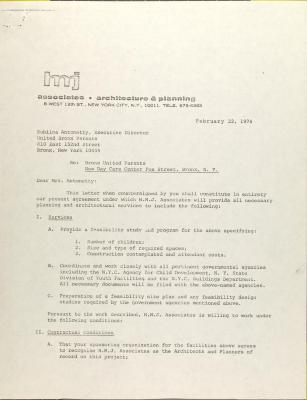 Contract from H.M.J Associates