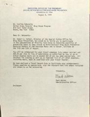 Invitation from Mack Warren