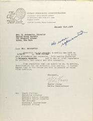 Letter from Nestor Llamas