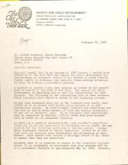 Letter from Betti S. Whaley