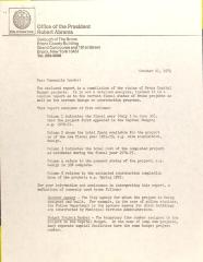 Letter from Robert Abrams