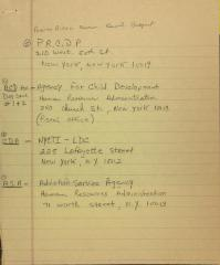 List of Organizations