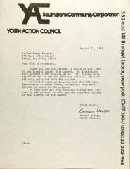 Letter from Carmen Arroyo