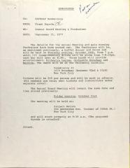 Memorandum to NAPRDAP Membership