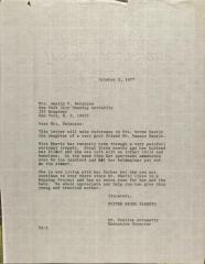 Letter to Amalia V. Betanzos from Evelina Antonetty