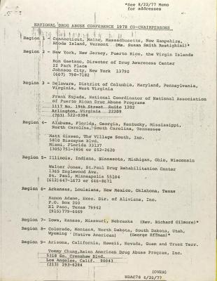 List of Co-Chairs