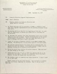 Letter from John N. Hatfield