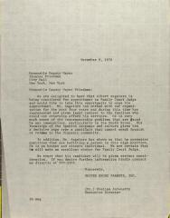 Letter to Stanley Friedman