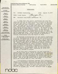 Letter from Frank Espada