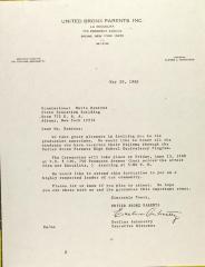 Letter to Maria Remirez