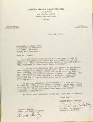 Letter to Stanley Simon