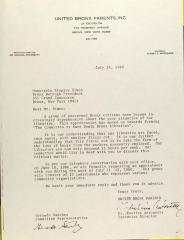 Letter to Stanley Simon