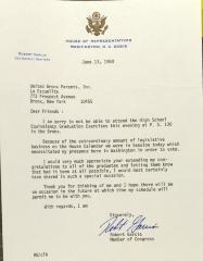 Letter from Robert Garcia
