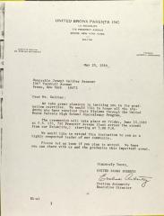 Letter to Joseph Galiber