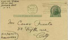 Hispanic Publishers correspondence