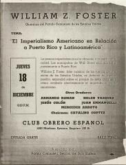 El Imperialismo Americano en Relación a Puerto Rico y Latinoamérica / American Imperialism in Relation to Puerto Rico and Latin America