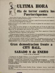 Última Hora - Ola de terror contra los Puertorriqueños / Last Hour - Wave of Terror against Puerto Ricans